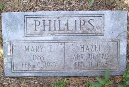 PHILLIPS, MARY E - Washington County, Arkansas   MARY E PHILLIPS - Arkansas Gravestone Photos