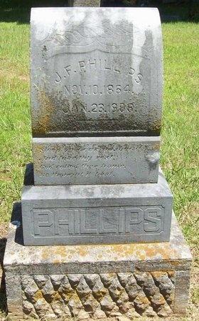 PHILLIPS, J F - Washington County, Arkansas | J F PHILLIPS - Arkansas Gravestone Photos
