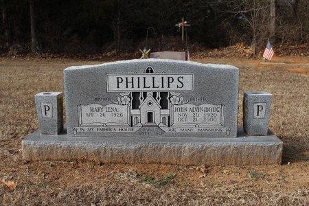 PHILLIPS, JOHN ALVIN (DOUG) - Washington County, Arkansas   JOHN ALVIN (DOUG) PHILLIPS - Arkansas Gravestone Photos