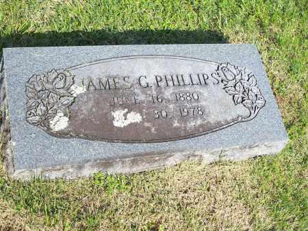 PHILLIPS, JAMES G. - Washington County, Arkansas | JAMES G. PHILLIPS - Arkansas Gravestone Photos