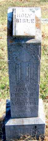 PHILLIPS, JAMES - Washington County, Arkansas | JAMES PHILLIPS - Arkansas Gravestone Photos