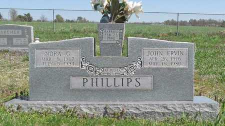 PHILLIPS, NORA G - Washington County, Arkansas   NORA G PHILLIPS - Arkansas Gravestone Photos