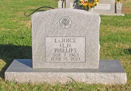 PHILLIPS, LAJOICE (LJ) - Washington County, Arkansas   LAJOICE (LJ) PHILLIPS - Arkansas Gravestone Photos