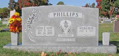 PHILLIPS, WILMA DEAN - Washington County, Arkansas | WILMA DEAN PHILLIPS - Arkansas Gravestone Photos