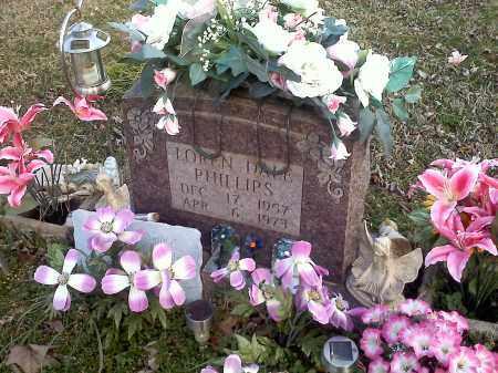 PHILLIPS, LOREN DALE - Washington County, Arkansas | LOREN DALE PHILLIPS - Arkansas Gravestone Photos
