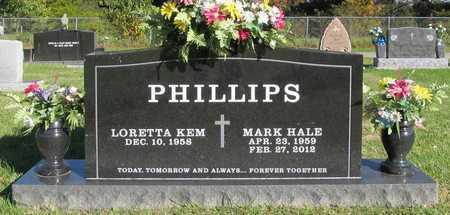 PHILLIPS, MARK HALE - Washington County, Arkansas | MARK HALE PHILLIPS - Arkansas Gravestone Photos