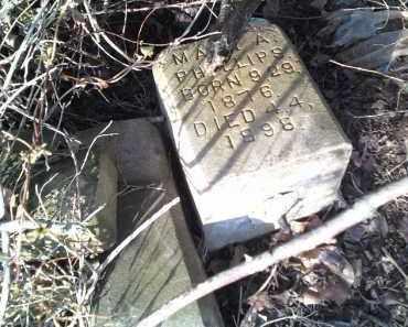 PHILLIPS, MARY A. - Washington County, Arkansas   MARY A. PHILLIPS - Arkansas Gravestone Photos