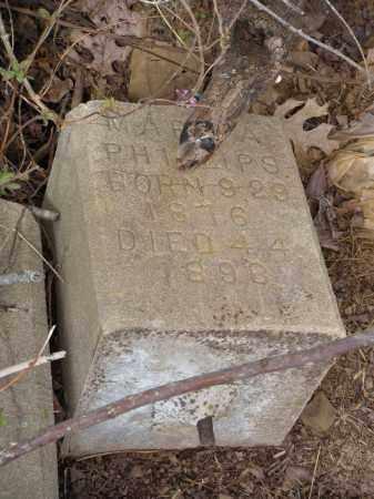 PHILLIPS, MARY A. - Washington County, Arkansas | MARY A. PHILLIPS - Arkansas Gravestone Photos