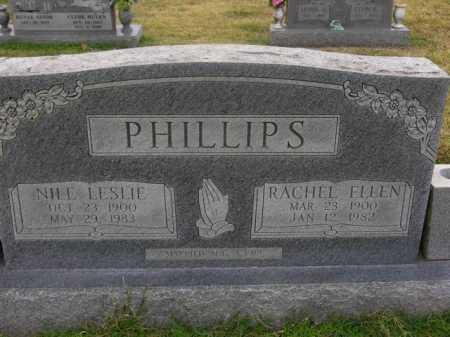 PHILLIPS, NILE LESLIE - Washington County, Arkansas | NILE LESLIE PHILLIPS - Arkansas Gravestone Photos