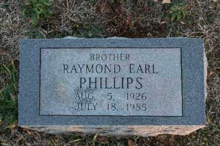 PHILLIPS, RAYMOND EARL - Washington County, Arkansas   RAYMOND EARL PHILLIPS - Arkansas Gravestone Photos