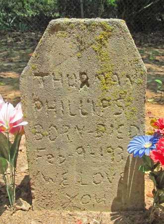 PHILLIPS, THURMAN - Washington County, Arkansas | THURMAN PHILLIPS - Arkansas Gravestone Photos