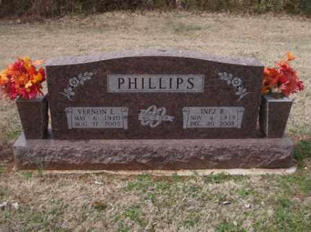 PHILLIPS, VERNON E. - Washington County, Arkansas   VERNON E. PHILLIPS - Arkansas Gravestone Photos