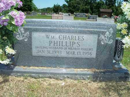 PHILLIPS, WILLIAM CHARLES - Washington County, Arkansas   WILLIAM CHARLES PHILLIPS - Arkansas Gravestone Photos