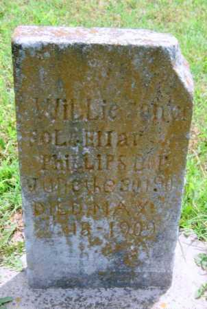 PHILLIPS, WILLIE - Washington County, Arkansas   WILLIE PHILLIPS - Arkansas Gravestone Photos