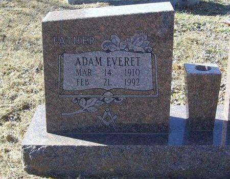 REED, ADAM EVERET - Washington County, Arkansas   ADAM EVERET REED - Arkansas Gravestone Photos
