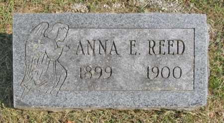 REED, ANNA E. - Washington County, Arkansas | ANNA E. REED - Arkansas Gravestone Photos