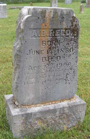 REED, A B - Washington County, Arkansas | A B REED - Arkansas Gravestone Photos