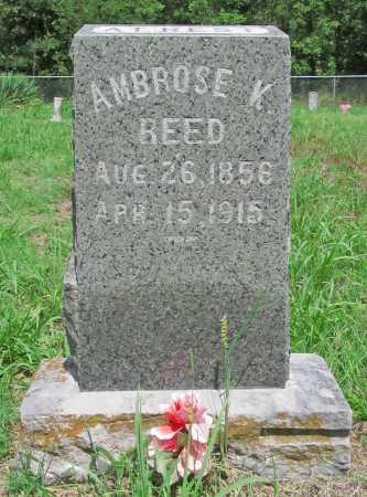 REED, AMBROSE K - Washington County, Arkansas | AMBROSE K REED - Arkansas Gravestone Photos