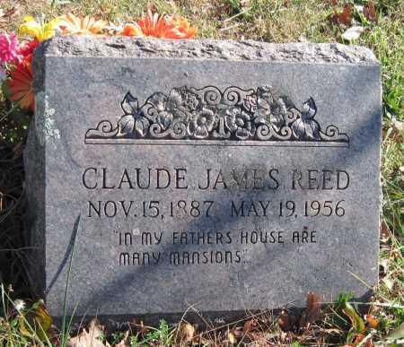 REED, CLAUDE JAMES - Washington County, Arkansas | CLAUDE JAMES REED - Arkansas Gravestone Photos