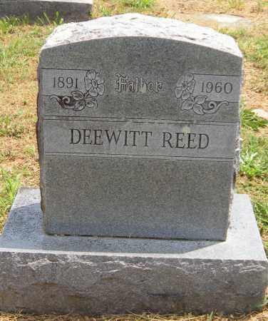 REED, DEEWITT - Washington County, Arkansas   DEEWITT REED - Arkansas Gravestone Photos