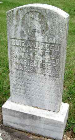 REED, ELIZA JANE - Washington County, Arkansas   ELIZA JANE REED - Arkansas Gravestone Photos