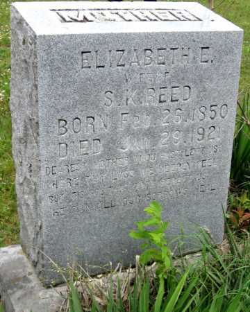 REED, ELIZABETH ELLEN - Washington County, Arkansas | ELIZABETH ELLEN REED - Arkansas Gravestone Photos