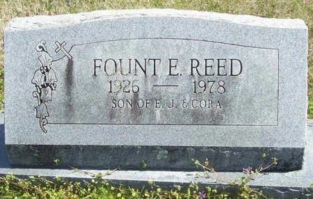 REED, FOUNT ELLIS - Washington County, Arkansas | FOUNT ELLIS REED - Arkansas Gravestone Photos