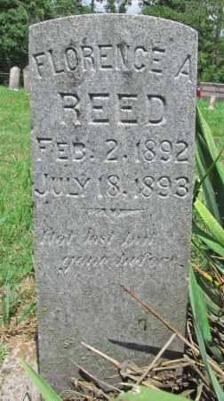 REED, FLORENCE A - Washington County, Arkansas | FLORENCE A REED - Arkansas Gravestone Photos