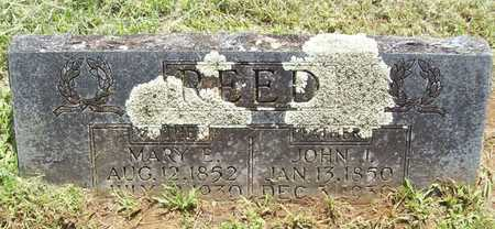 REED, MARY E - Washington County, Arkansas | MARY E REED - Arkansas Gravestone Photos