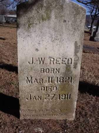 REED, J.W. - Washington County, Arkansas | J.W. REED - Arkansas Gravestone Photos