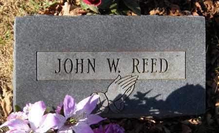 REED, JOHN W - Washington County, Arkansas | JOHN W REED - Arkansas Gravestone Photos