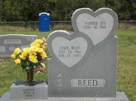 REED, JANIE RUTH - Washington County, Arkansas | JANIE RUTH REED - Arkansas Gravestone Photos