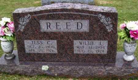 REED, WILLIE L - Washington County, Arkansas   WILLIE L REED - Arkansas Gravestone Photos