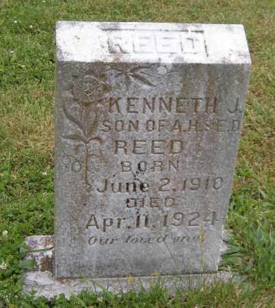 REED, KENNETH J - Washington County, Arkansas | KENNETH J REED - Arkansas Gravestone Photos