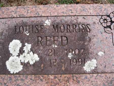 REED, LOUISE - Washington County, Arkansas | LOUISE REED - Arkansas Gravestone Photos