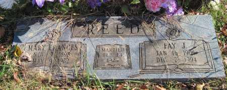 REED, FAY J - Washington County, Arkansas | FAY J REED - Arkansas Gravestone Photos