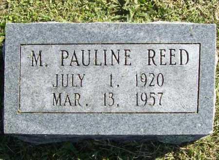 REED, M PAULINE - Washington County, Arkansas | M PAULINE REED - Arkansas Gravestone Photos