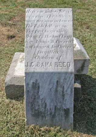 REED, UNKNOWN - Washington County, Arkansas | UNKNOWN REED - Arkansas Gravestone Photos