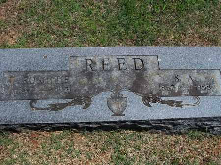 REED, S.A. - Washington County, Arkansas | S.A. REED - Arkansas Gravestone Photos