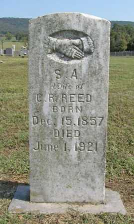 REED, S. A. - Washington County, Arkansas | S. A. REED - Arkansas Gravestone Photos