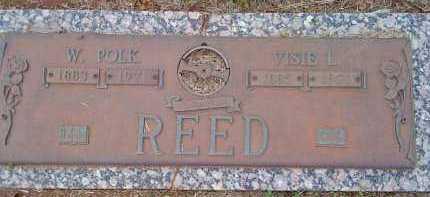 REED, W. POLK - Washington County, Arkansas | W. POLK REED - Arkansas Gravestone Photos