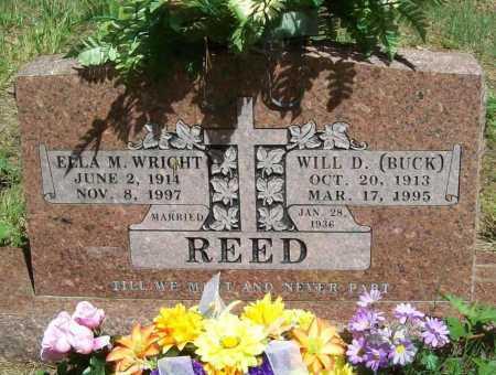 "REED, WILLIAM DEWITT ""BUCK"" - Washington County, Arkansas | WILLIAM DEWITT ""BUCK"" REED - Arkansas Gravestone Photos"