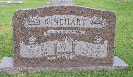 RINEHART, MYRTLE - Washington County, Arkansas   MYRTLE RINEHART - Arkansas Gravestone Photos