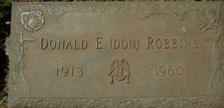 ROBBINS, DONALD E. - Washington County, Arkansas | DONALD E. ROBBINS - Arkansas Gravestone Photos