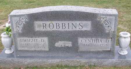 ROBBINS, DWIGHT D - Washington County, Arkansas   DWIGHT D ROBBINS - Arkansas Gravestone Photos