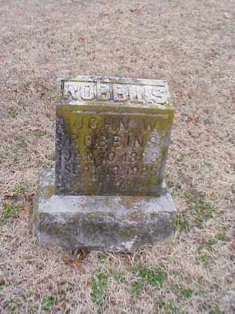 ROBBINS, JOHN W. - Washington County, Arkansas | JOHN W. ROBBINS - Arkansas Gravestone Photos