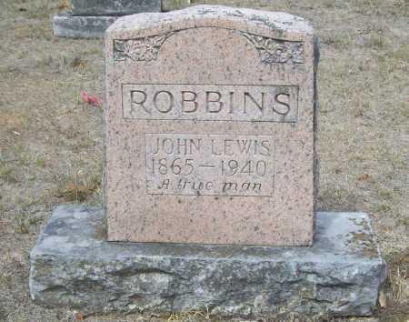 ROBBINS, JOHN LEWIS - Washington County, Arkansas | JOHN LEWIS ROBBINS - Arkansas Gravestone Photos