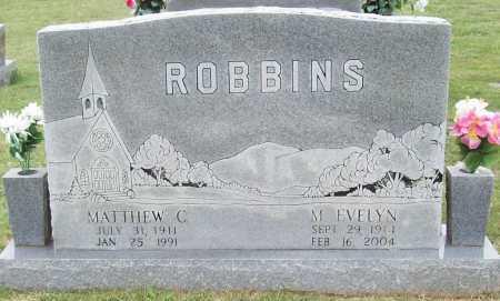 ROBBINS, MATTHEW CALVIN - Washington County, Arkansas | MATTHEW CALVIN ROBBINS - Arkansas Gravestone Photos