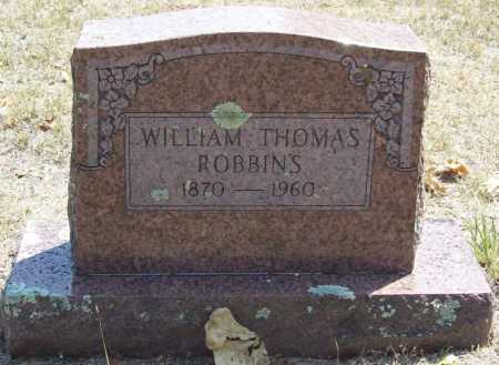 ROBBINS, WILLIAM THOMAS - Washington County, Arkansas | WILLIAM THOMAS ROBBINS - Arkansas Gravestone Photos