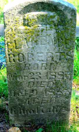 ROBERTS, CLARENCE - Washington County, Arkansas   CLARENCE ROBERTS - Arkansas Gravestone Photos